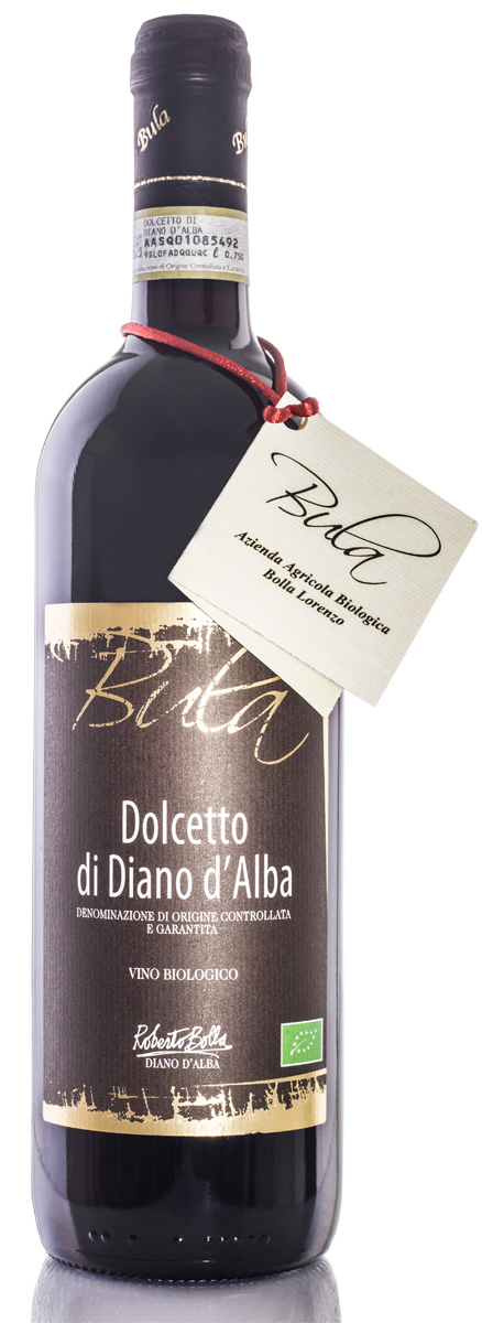Dolcetto with no added sulphites D.O.C.G.